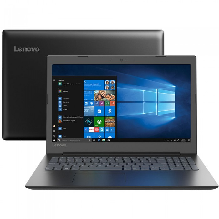 "Notebook Lenovo Ideapad 330 Dual Core Intel Celeron 3867U 4GB 500GB Tela 15.6"" Windows 10"